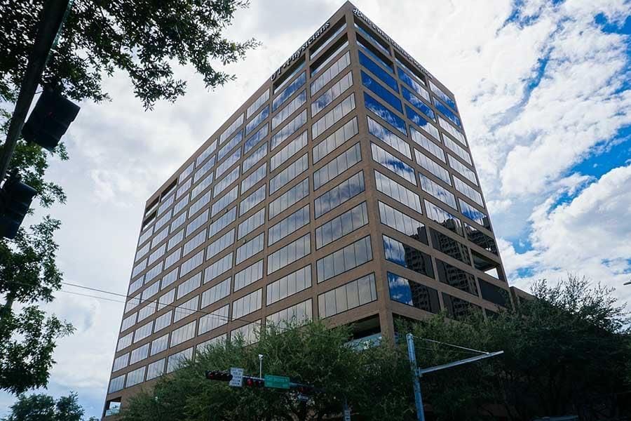 Houston clinic building