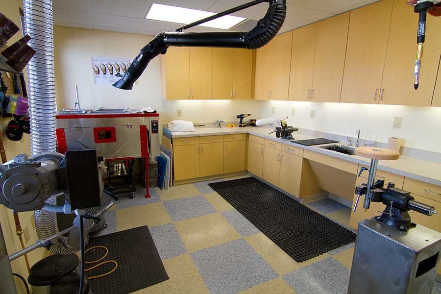 Prosthetic lab