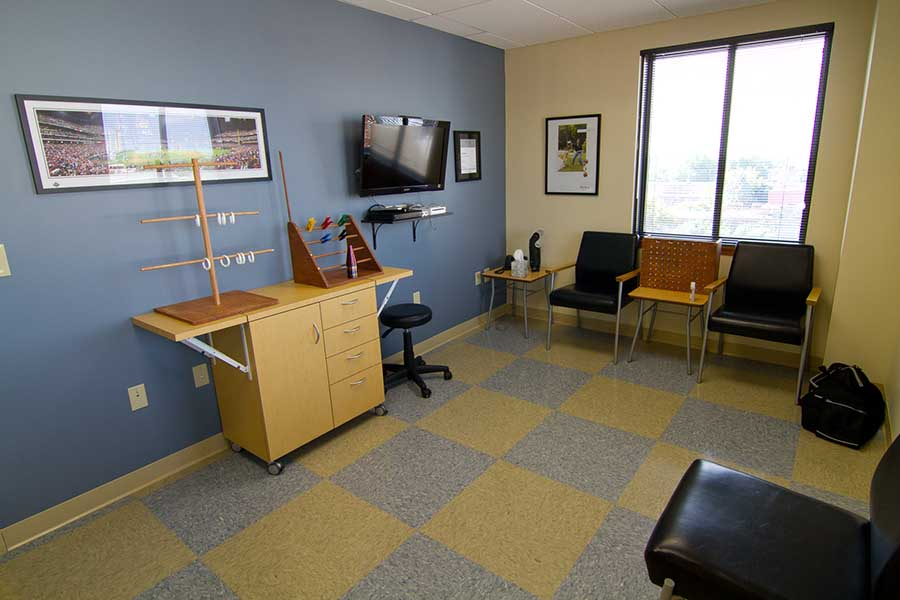 The Philadelphia office therapy room