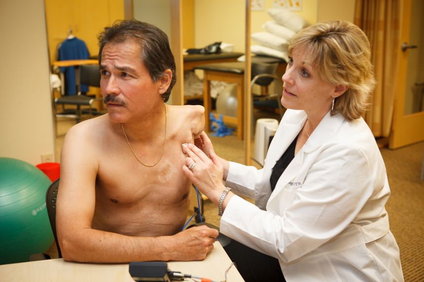 Identifying EMG signals with Therapist