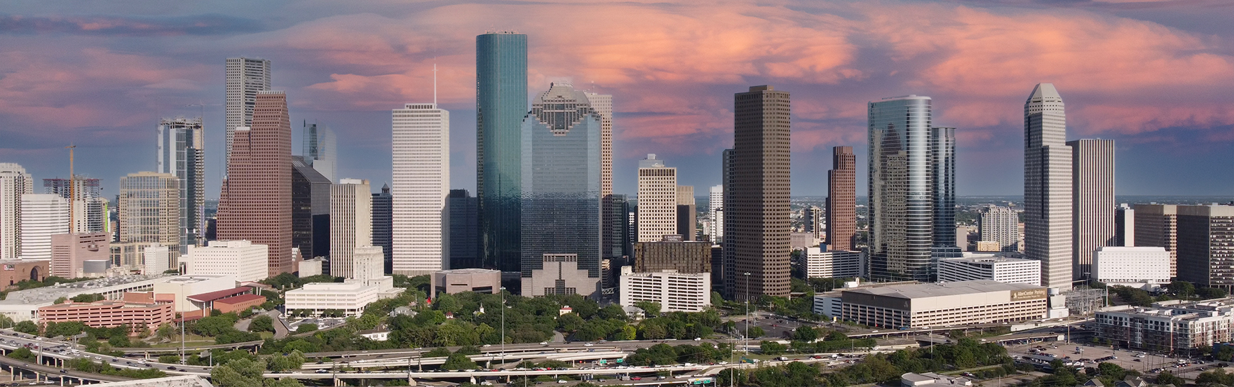 2021 Houston Skyline