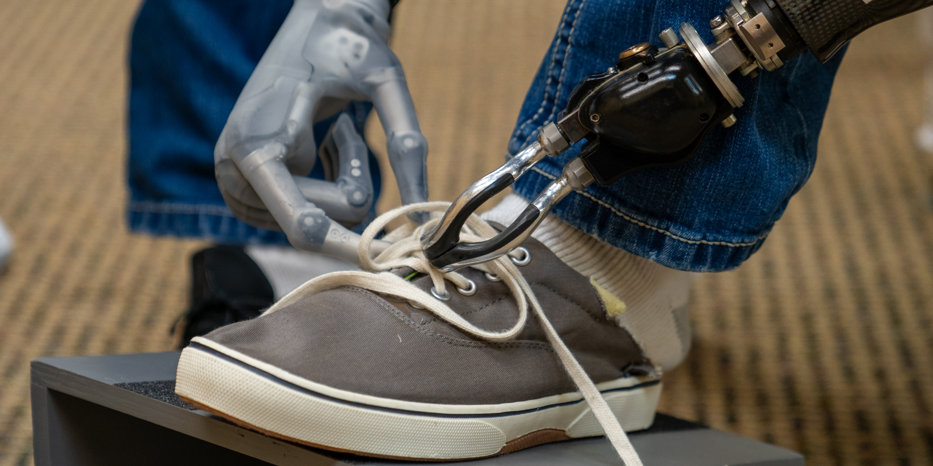 Tying Shoes as an ADL in the CAPPFUL