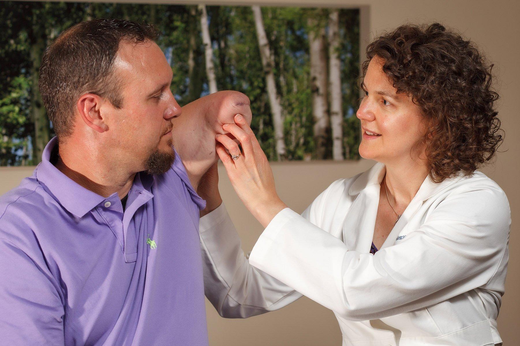Jennifer Peterson Pre Prosthetic Therapy