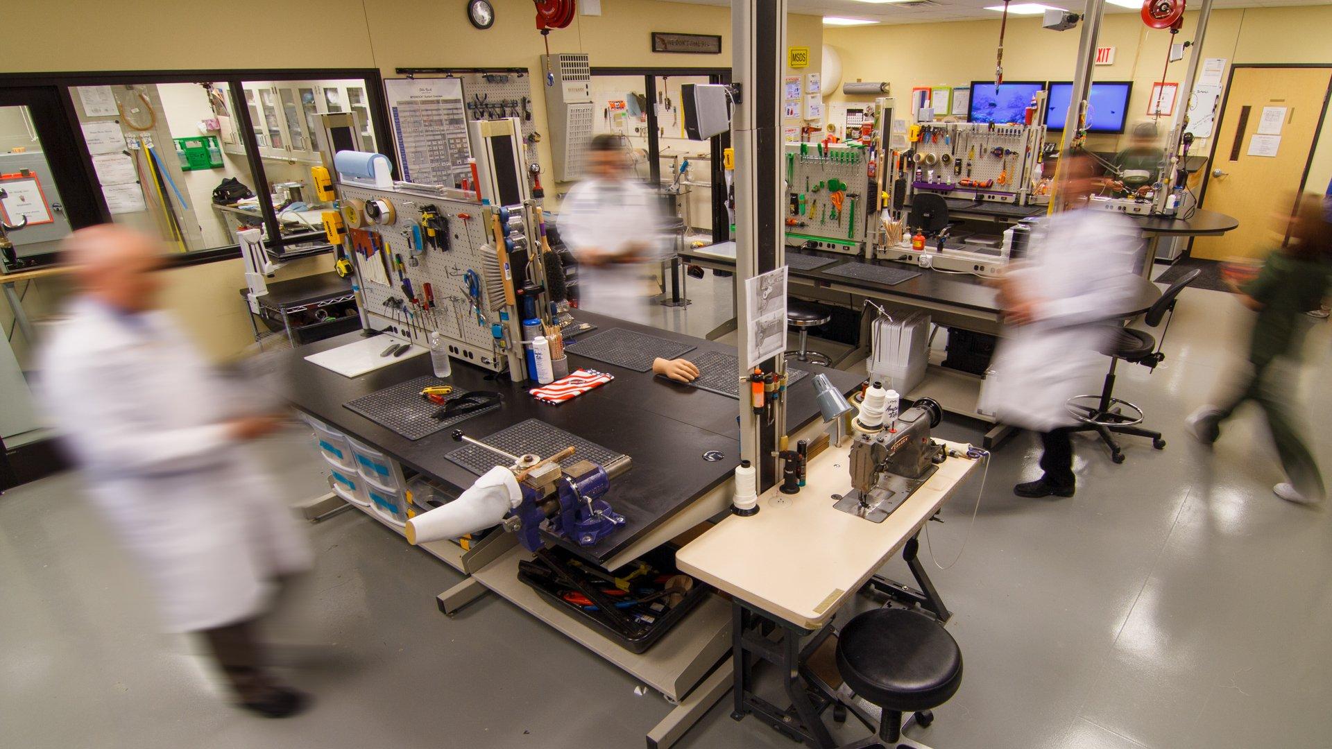 Southwest center fabrication lab