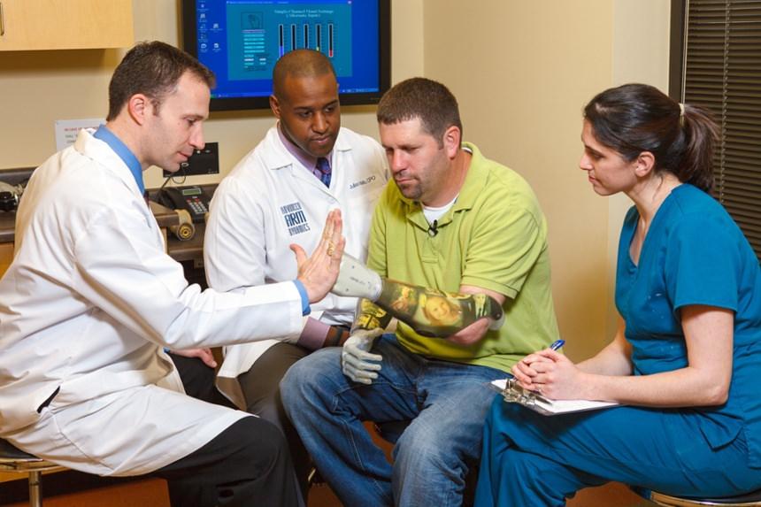 Arm Dynamics Upper Limb Prosthetic Experts Team Photo
