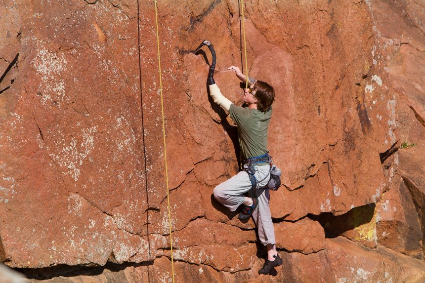 Brian Doyne Rock Climbing Activity Specific Prosthesis